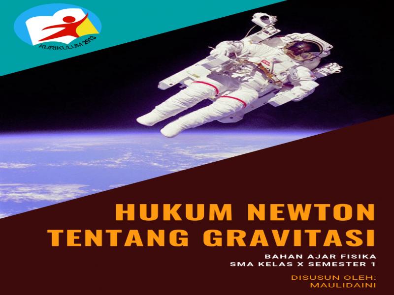 Bahan Ajar Hukum Newton Tentang Gravitasi